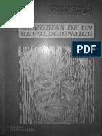 Serge - Memorias de un revolucionario