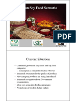 Indian Soy Food Scenario - Suresh Itapu
