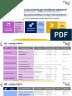 GBS Learning & Development Portfolio