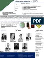 SENTELLIGENCEone - Technology Brief