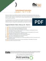 CBI MOOC Module 2 Packet