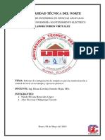 Configuración de Sinópticos Para La Monitorización y Control de Nivel_Intouch Scada