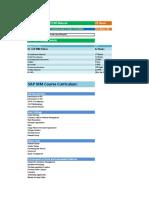 02.SAP MM Video Course Content & Materials Detials