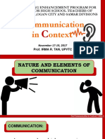 01_TEP_Nature and Elements of Communication