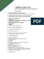 CLASIFICACION ANTICINETICOS