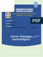Informe de Hidrologia i