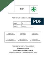 07-Sop Pembuatan Cairan Klorin 0,5%