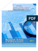 Research Articles by Budding Researchers VOL-7 2016-2017