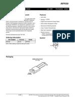 Transistor IRFP350 (1)