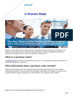 Purchase Order Process