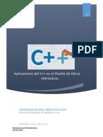 02. Aplicaciones del C++ al Diseño de Obras Hidraulicas