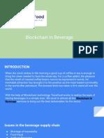 Blockchain in Beverage