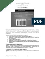 QUE ES EL ISBN