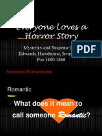 Horror - Narrative Writing