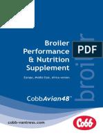 Cobbavian48 Broiler Performance and Nutrition Supplement Emea