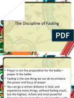 The Discipline of Fasting Color