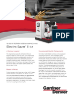 Electra Saver II G2 40-60 HP Rotary Screw Compressor Cut Sheet