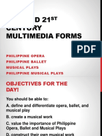 20th and 21st CENTURY MULTIMEDIA FORMS.pptx