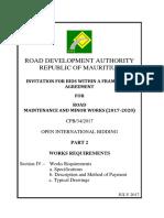 2019 02 04 Roadwork Specs From RDA