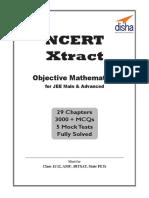 NCERT Xtract - Objective Mathem - Disha Experts