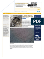 Www Pavemanpro Com Article Identifying Asphalt Pavement Defects