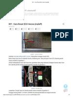 DIY _ Cara Reset ECU Innova {Mylaff}