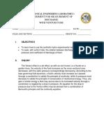 Group Report Experiment Venturi