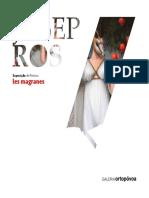 Catálogo da 20.ª Exposição da Galeria D'Arte Ortopóvoa - Pintura de JOSEP ROS