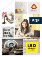 Unitedworld Institute of Design Brochure