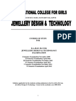 Jewellery designer and technology