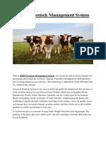 RFID Livestock Management System