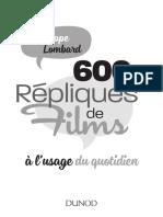repliques de films