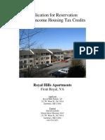 Royal Hills Apartments - 2009 VA