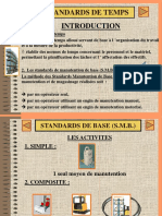 Standards de Manutention de Base