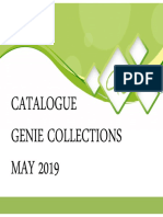 catalogue genie collections 2019