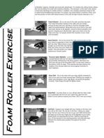 Exercise Handouts Foam Roller