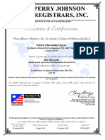 2517 CertificatoPF Iso9001 IAF28