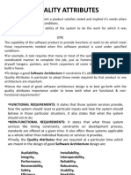 QUALITY ATTRIBUTES in SA&DP Subject (JNTUK)