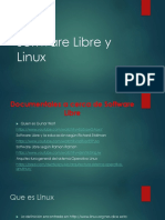 Software Libre y Linux
