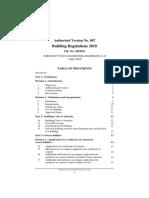 Building Regulations 2018 - 1 July 2019