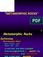 Lesson # 12 - Metamorphic Rock Ppt