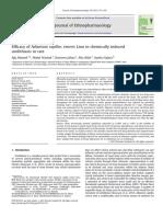 Efficacy of Adiantum capillus veneris Linn in chemically induced urolithiasis in rats