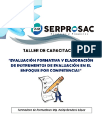 PPT EVALUACIÓN FORMATIVA Y ELABORACION DE INSTRUMENTOS DE EVALUACION - MG. HEIDY BENDEZU L..pdf