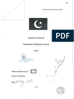 Constitution PTI - July 2019