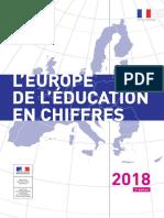 Europe de l'éducation en chiffres