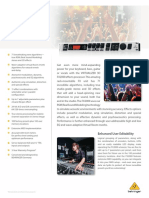 BEHRINGER_FX2000 P0A3P_Product Information Document