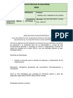 Análisis Dofa Plan Estratégico PDF 2019