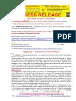20190724-Press Release Mr g. h. Schorel-hlavka o.w.b. Issue - Re Issue Euthanasia or Unlawful Killing(s)
