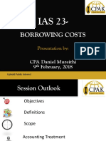 Ias 23 Borrowing Cost Cpa Daniel Mureithi