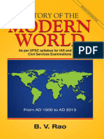 B.v. Rao - History of the Modern World. From AD 1500 to AD 2013-Sterling Publ. (2015)